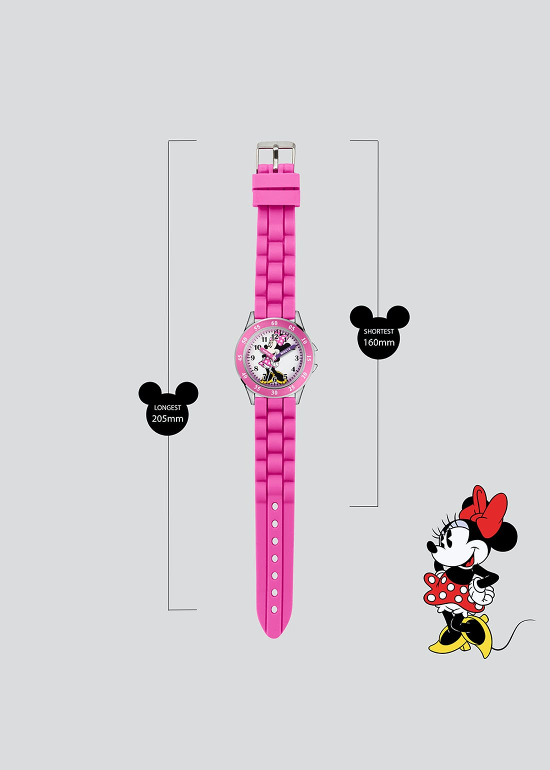 Kids Minnie Mouse Watch