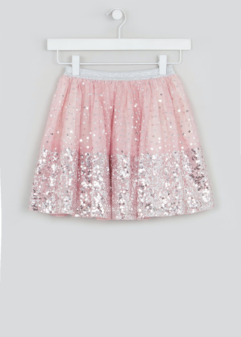 Girls Sparkle Mesh Tutu Skirt (4-10yrs)