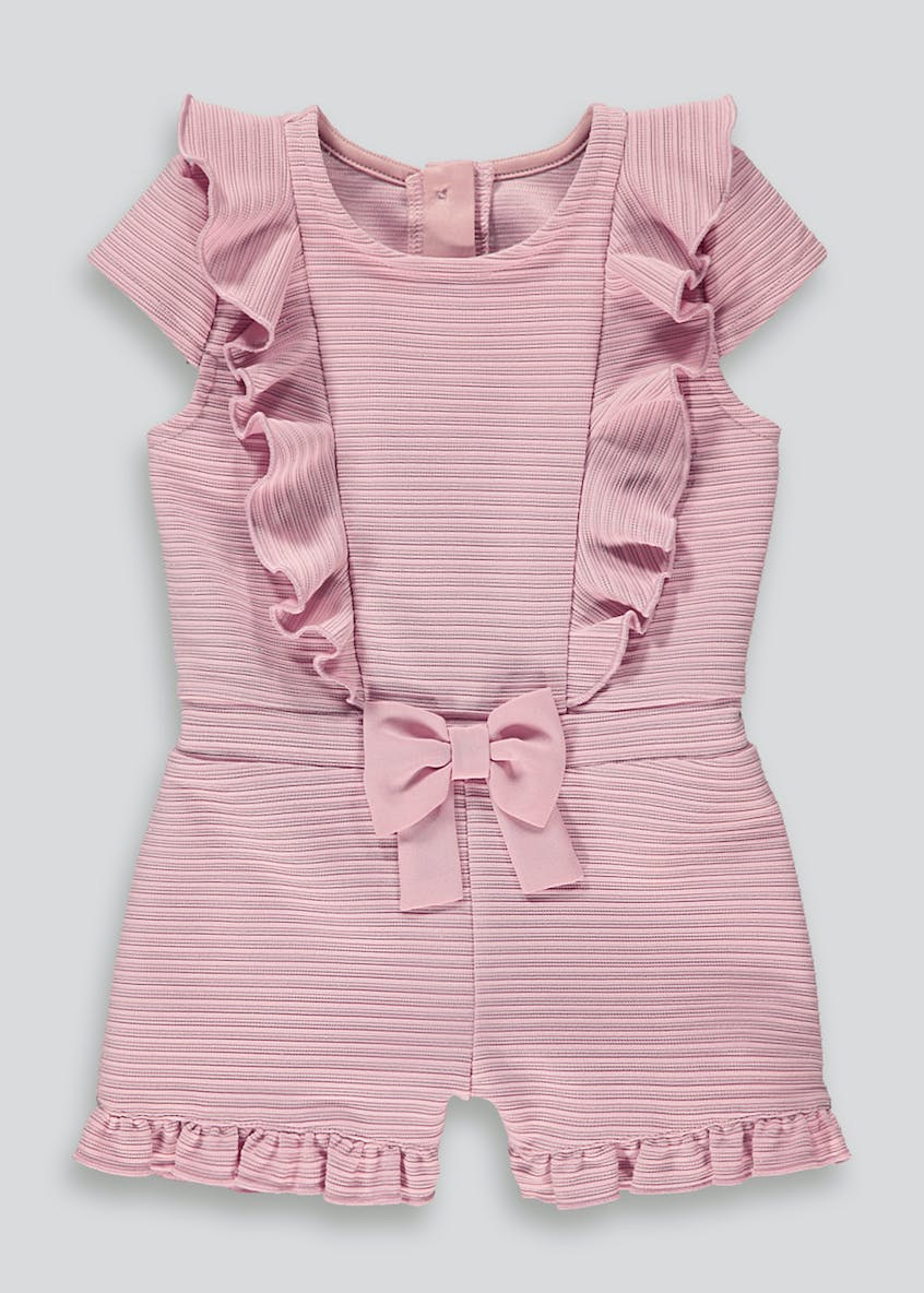 Girls Frill Front Playsuit (9mths-6yrs)