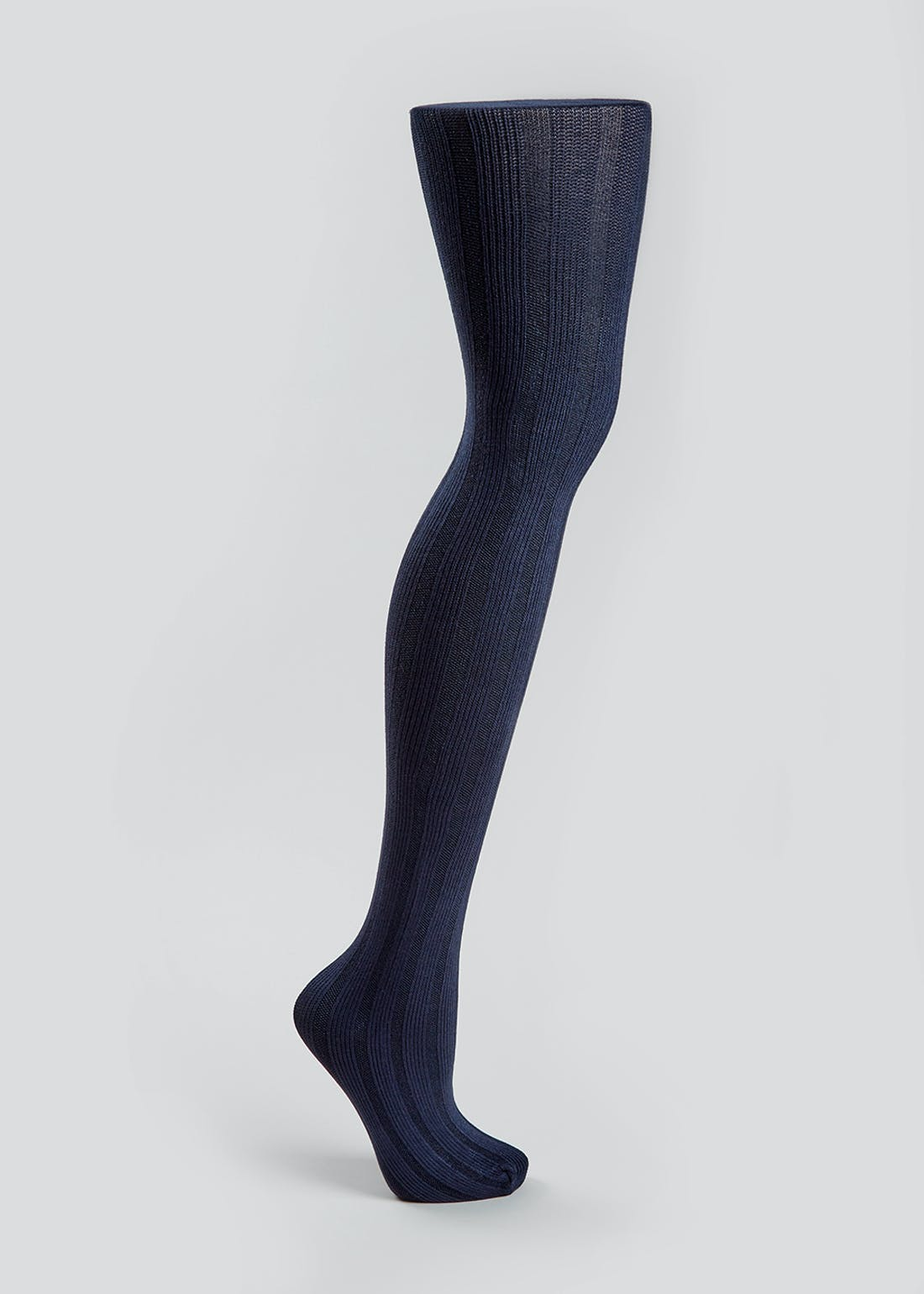 Knitted Ribbed Tights