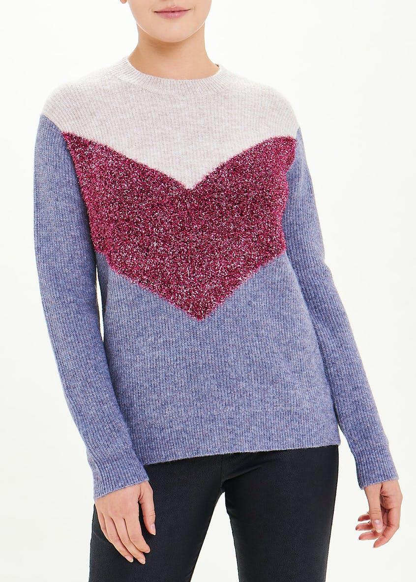 Sparkle Chevron Jumper