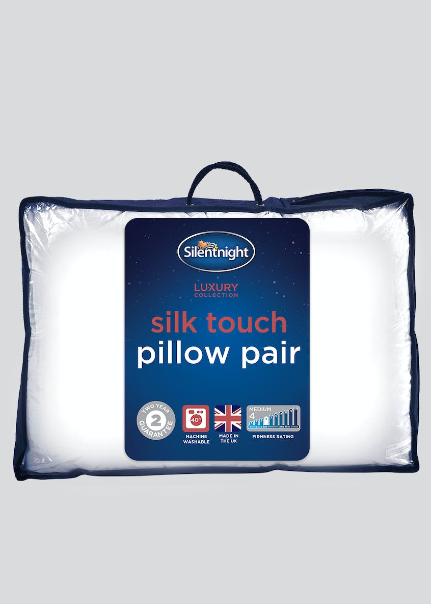 Silentnight Silk Touch Pillow Pair
