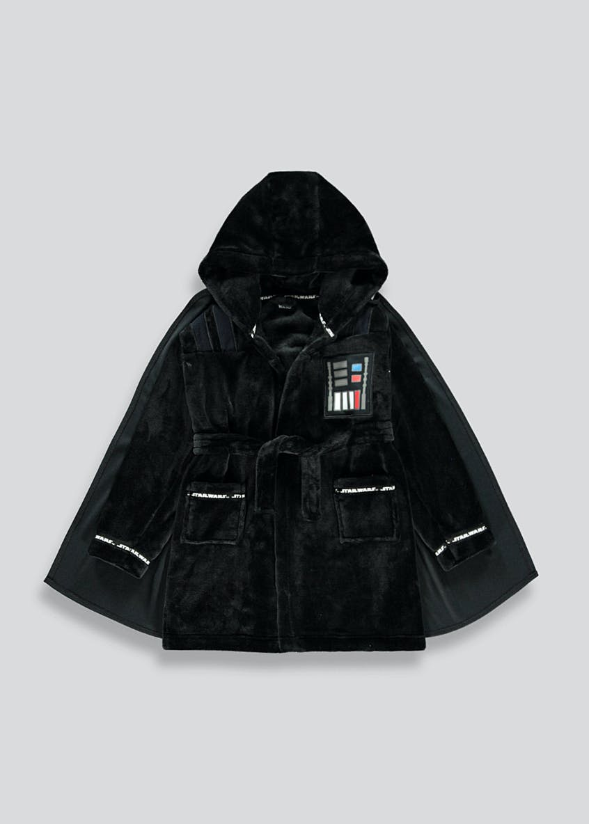 Kids Darth Vader Dressing Gown (4-11yrs)