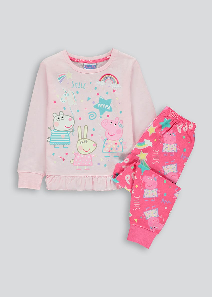 Kids Peppa Pig Pyjama Set (9mths-5yrs)