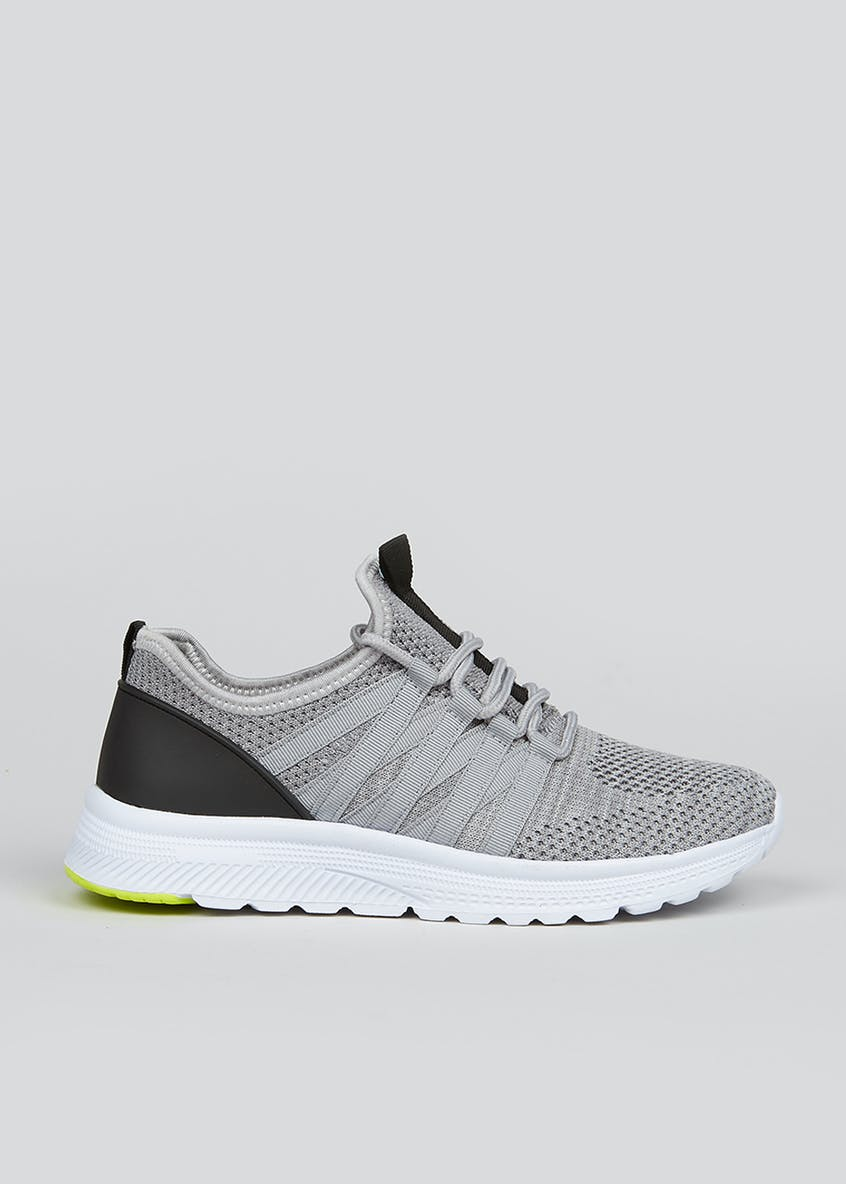 Souluxe Grey Trainers
