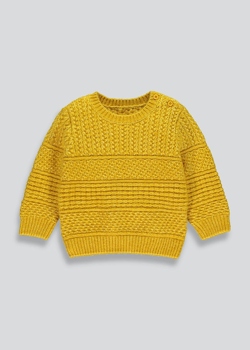 Boys Soft Knitted Jumper (9mths-6yrs)