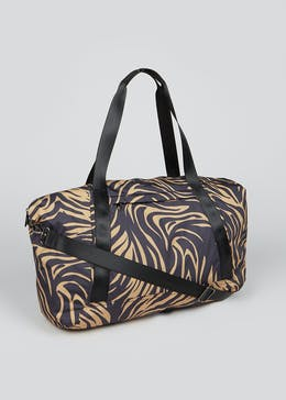 Tiger Print Weekend Bag