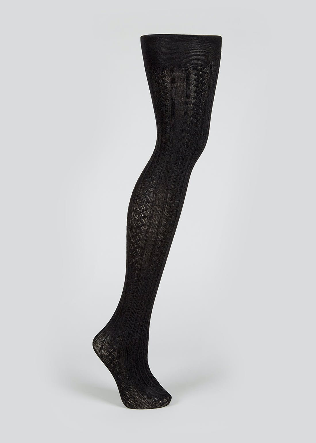 Knitted Cable Tights