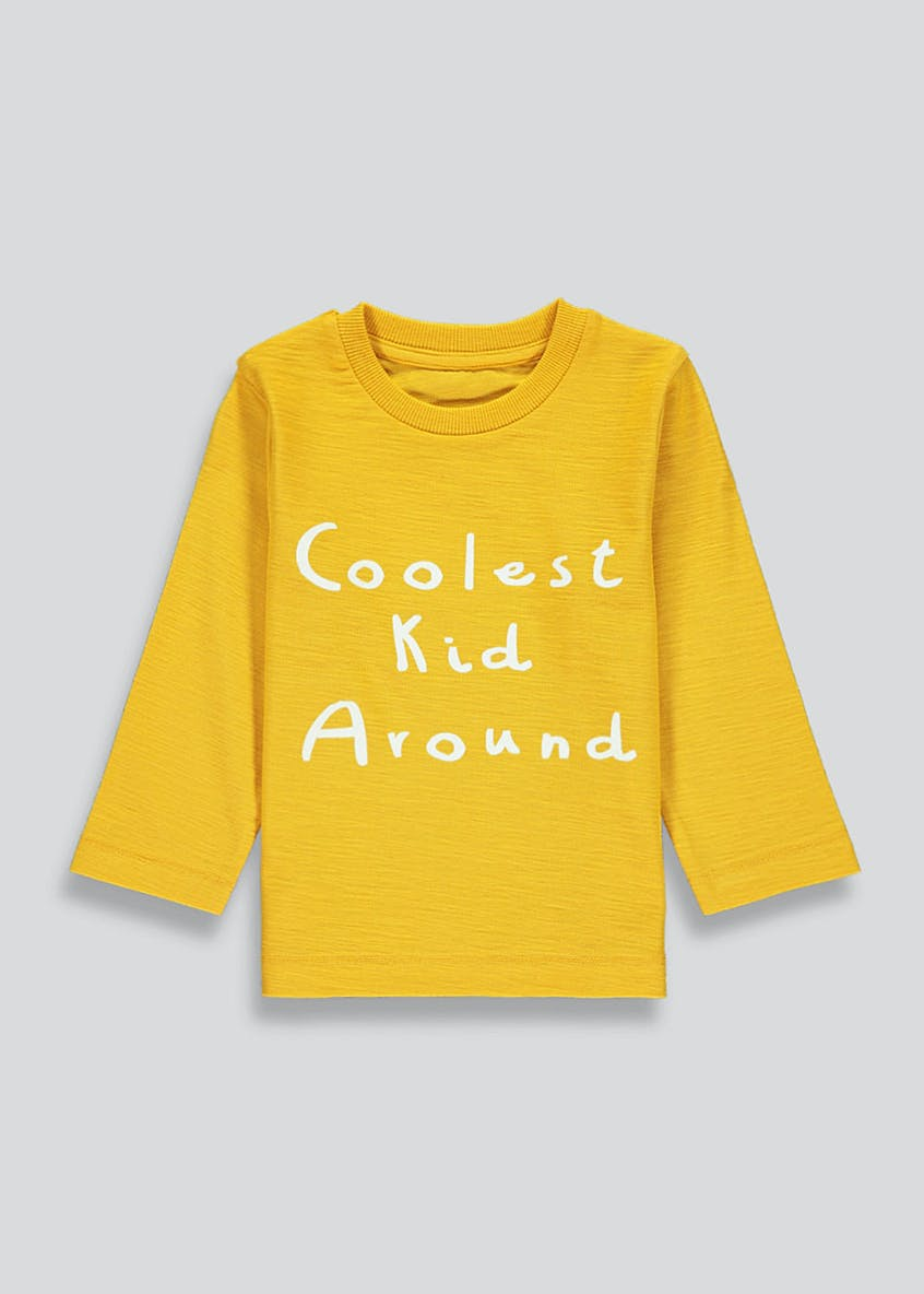 Boys Coolest Kid Around Long Sleeve T-Shirt (9mths-6yrs)