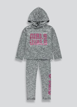Girls 2 Piece Hoodie and Joggers Set (4-13yrs)