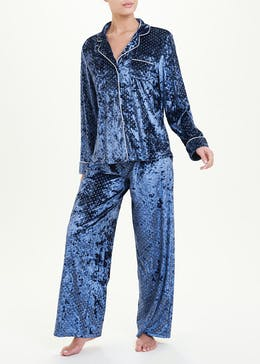 Sparkle Velour Premium Pyjama Set