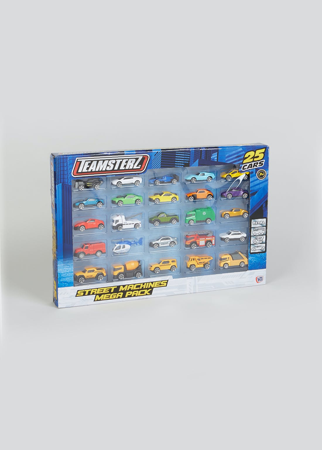 Teamsterz Street Machines Car Mega Pack (50cm x 33.5cm x 4.5cm)