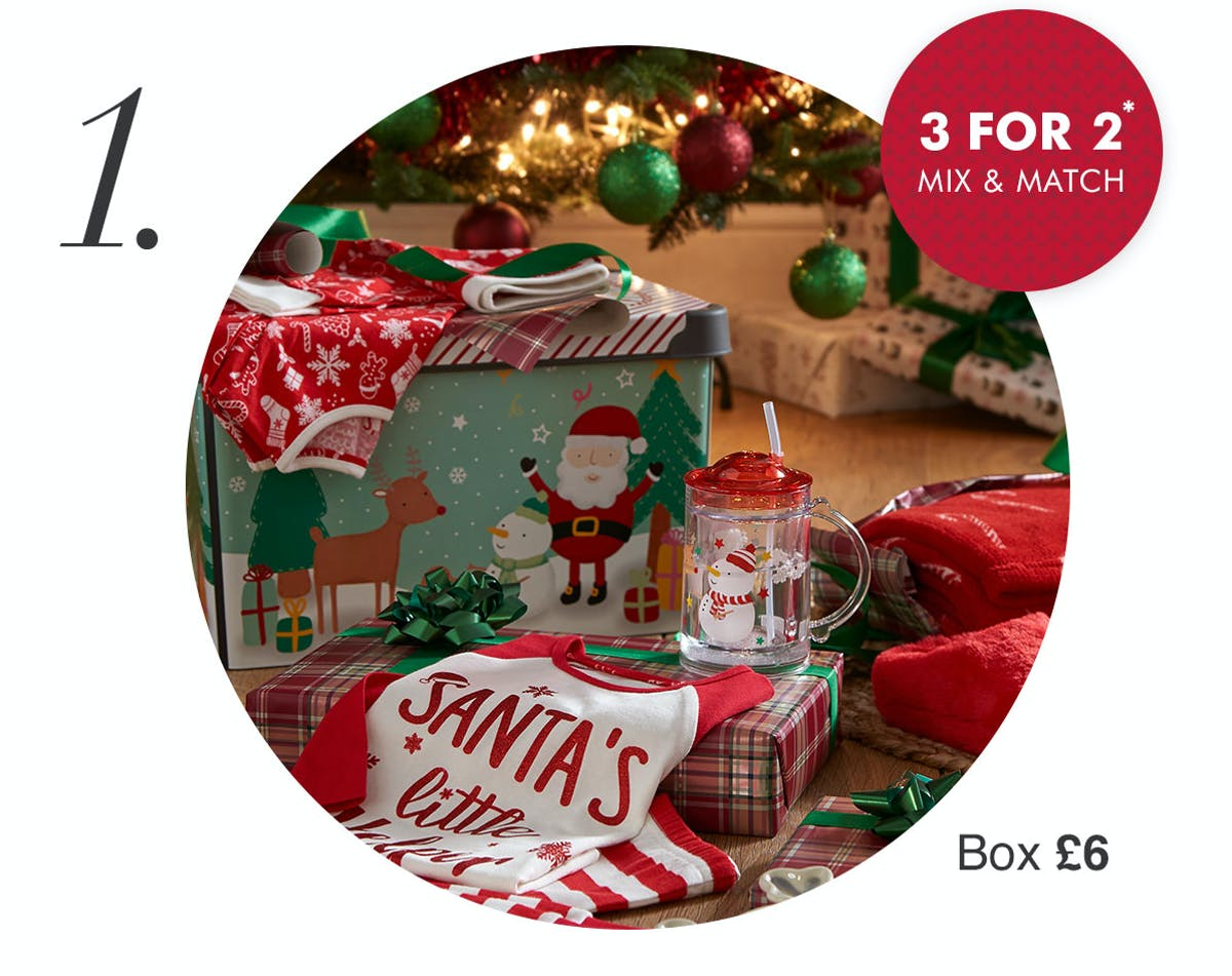 Christmas Eve Box Ideas For Kids Adults Matalan