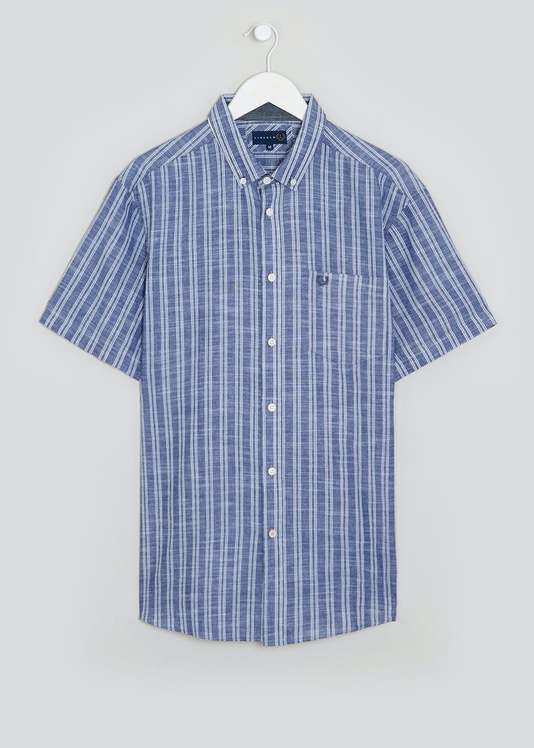 Lincoln Short Sleeve Slub Stripe Shirt