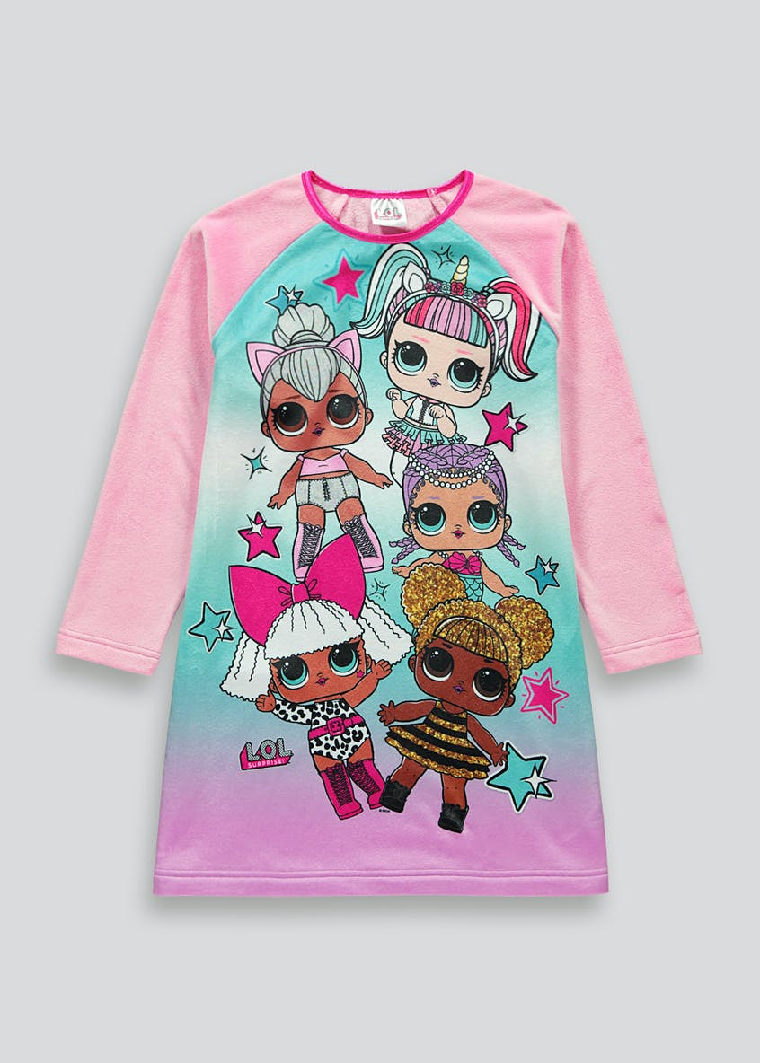 Kids L.O.L. Surprise Long Sleeve Nightie (4-11yrs)
