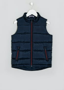 Boys US Athletic Navy Gilet (4-13yrs)