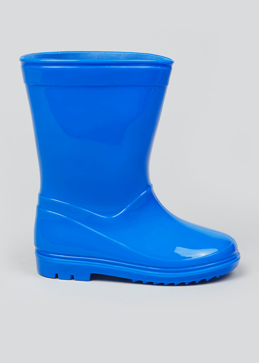 Boys Blue Patent Wellies (Younger 4-9)