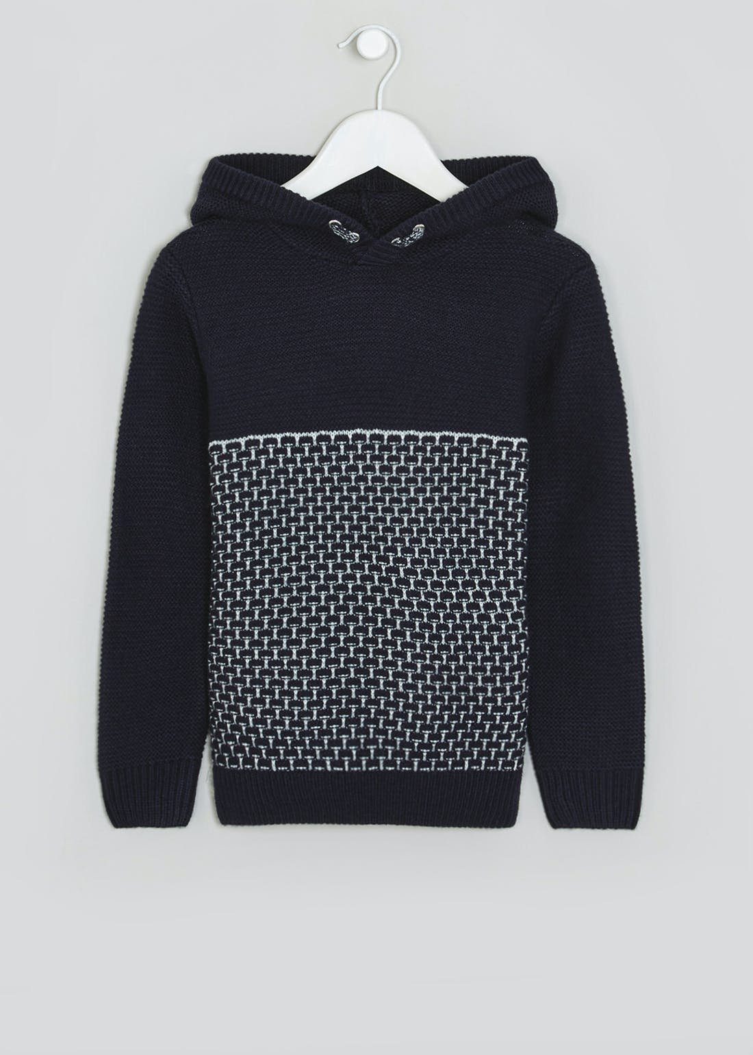 Boys Knitted Hoodie (4-13yrs)