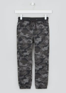 Boys Camo Print Knitted Jeans (4-13yrs)