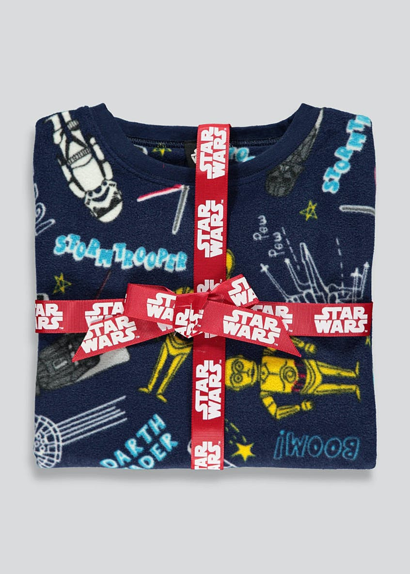 Kids Star Wars Fleece Pyjamas (4-11yrs)