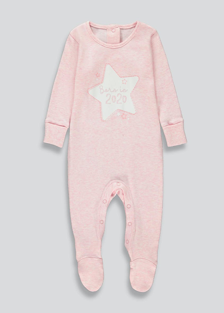 Girls Born In 2020 Baby Grow (Tiny Baby-9mths)