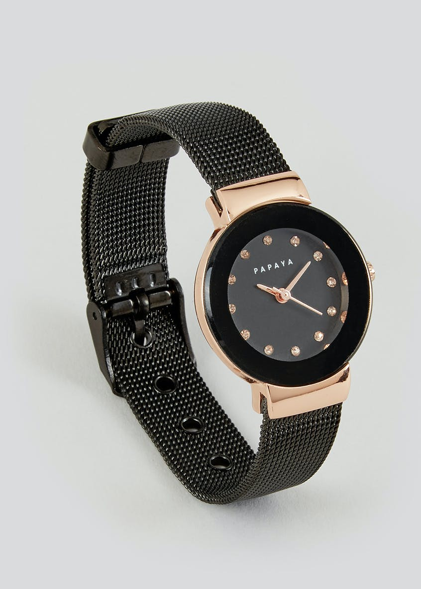 Studded Dial Watch