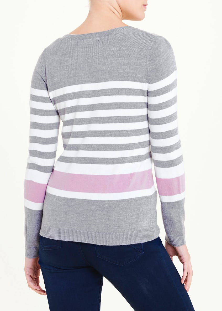 Stripe Super Soft Jumper