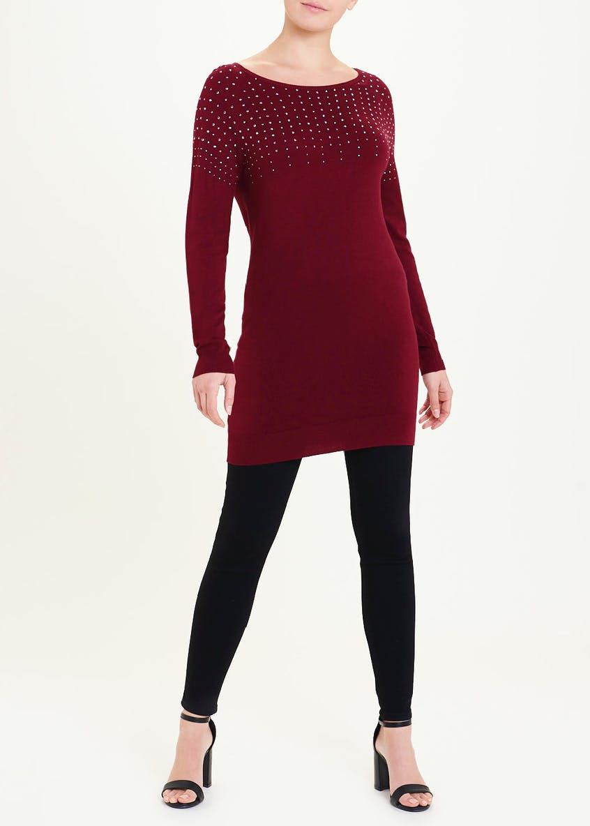 Soon Studded Tunic Jumper