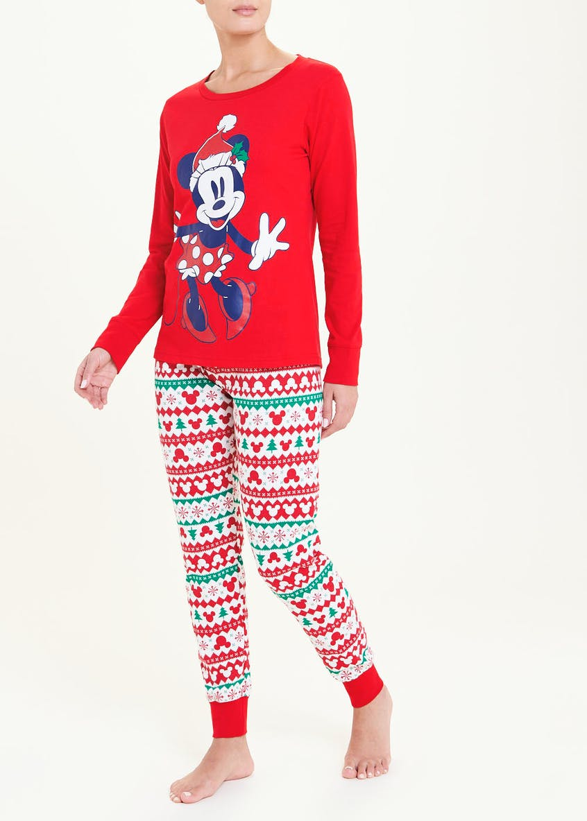 Minnie Mouse Christmas Pyjama Set