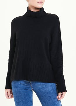 Cosy Funnel Neck Jumper