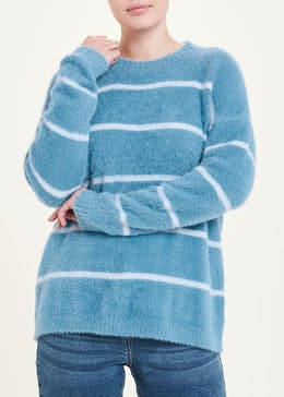 Fluffy Stripe Jumper