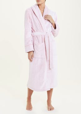 Honeycomb Fleece Dressing Gown