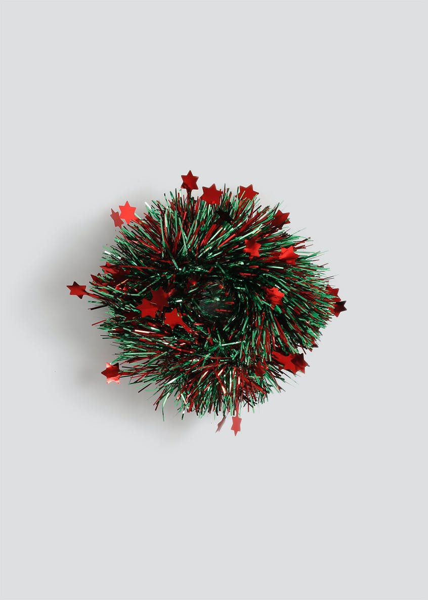 Christmas Tinsel Scrunchie