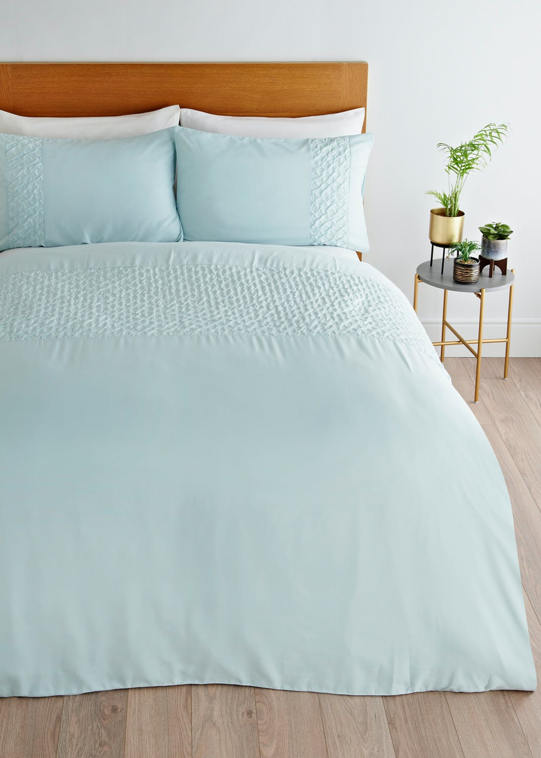 Textured Panel Duvet Cover
