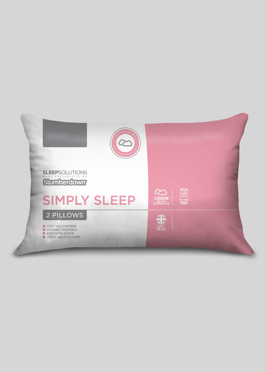 Slumberdown Simply Sleep Pillow Pair