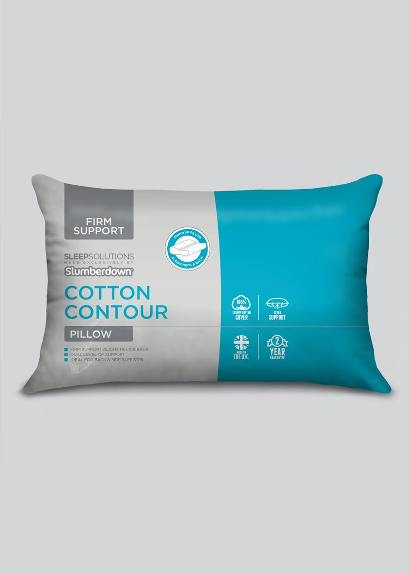Slumberdown Cotton Contour Pillow