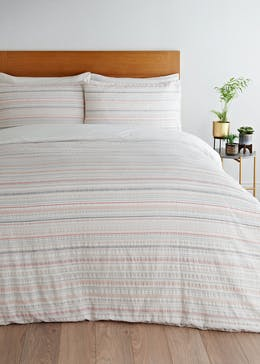 Seersucker Stripe Duvet Cover