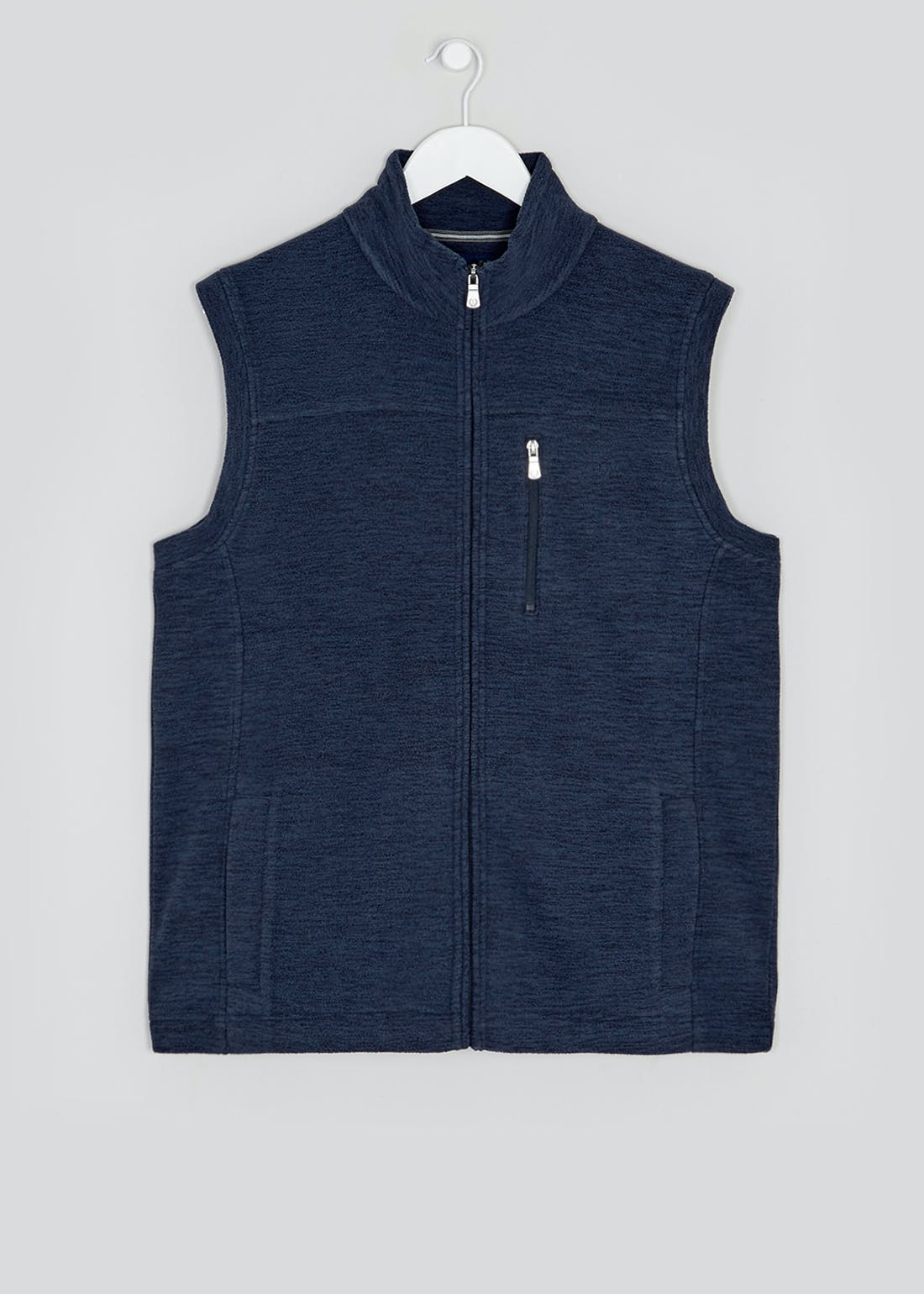 Lincoln Active Navy Fleece Gilet