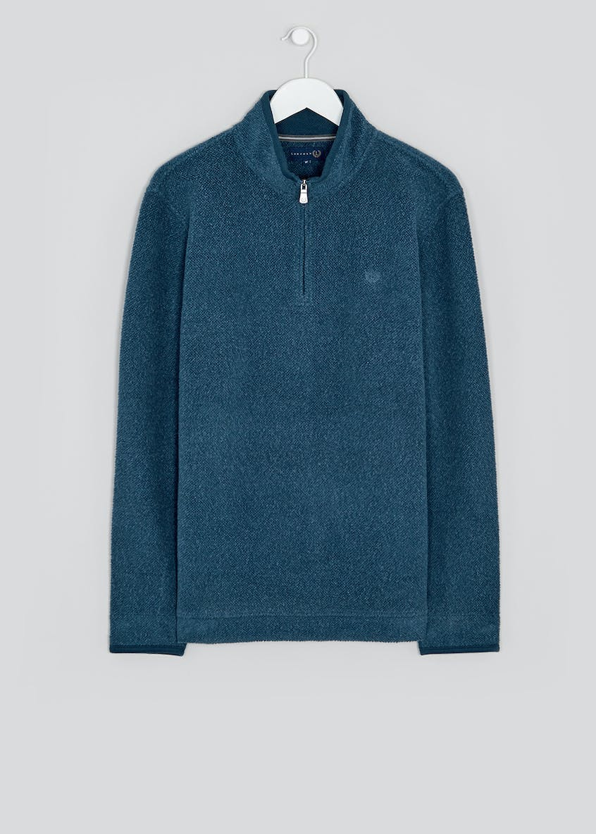 Lincoln Blue Half Zip Fleece