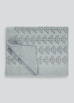 Sparkle Knit Baby Blanket