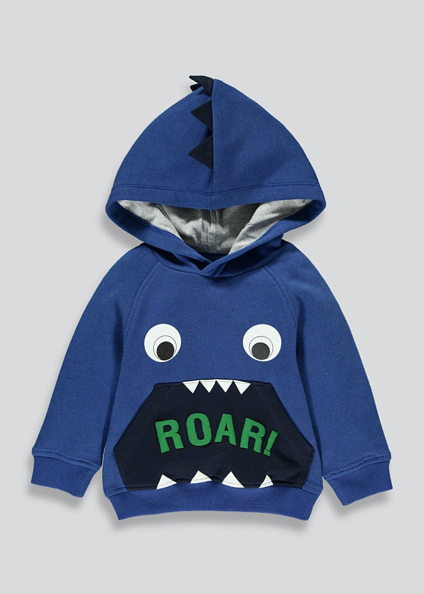 Boys Monster Pull On Hoodie (9mths-5yrs)