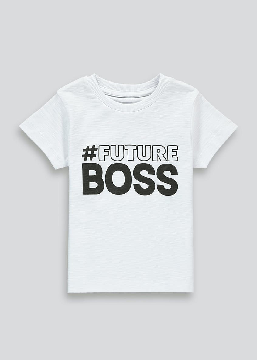 Kids Future Boss T-Shirt (9mths-6yrs)