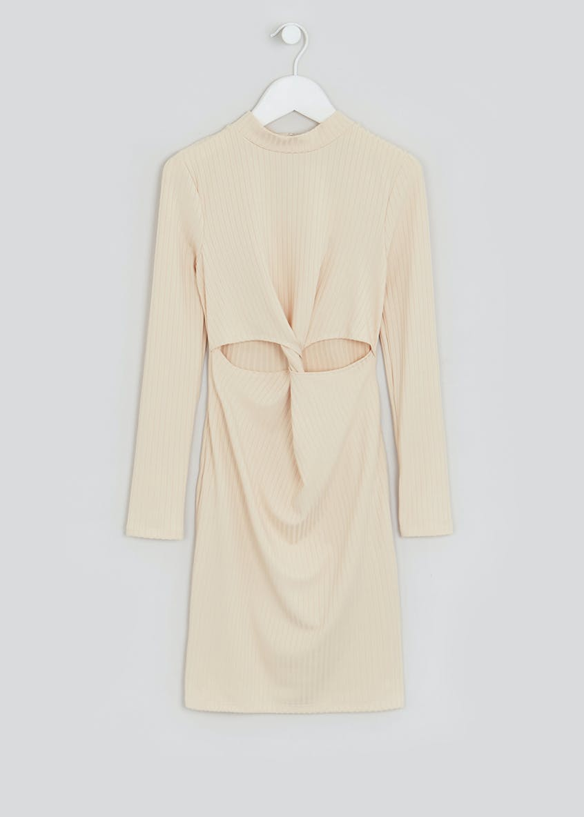 Girls Candy Couture X Cream Long Sleeve Dress (9-16yrs)