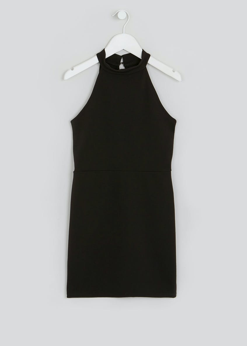Girls Candy Couture Black Sleeveless Dress (9-16yrs)