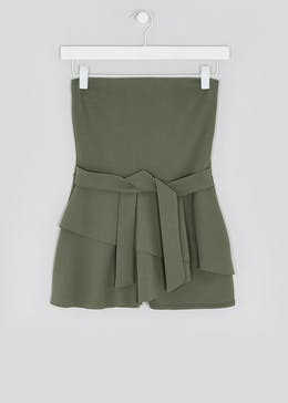 Girls Candy Couture Bandeau Skort Playsuit (9-16yrs)