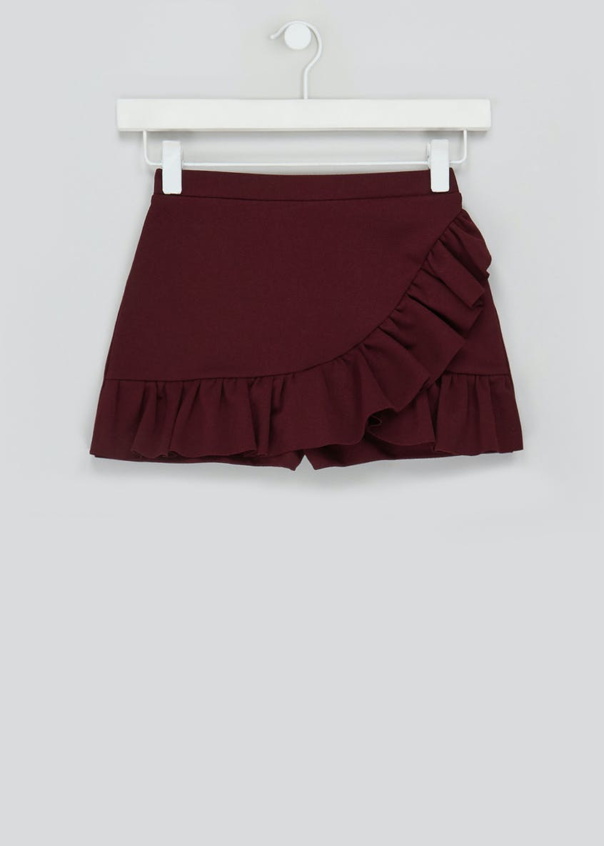 Girls Candy Couture Frill Co-Ord Skort (9-16yrs)
