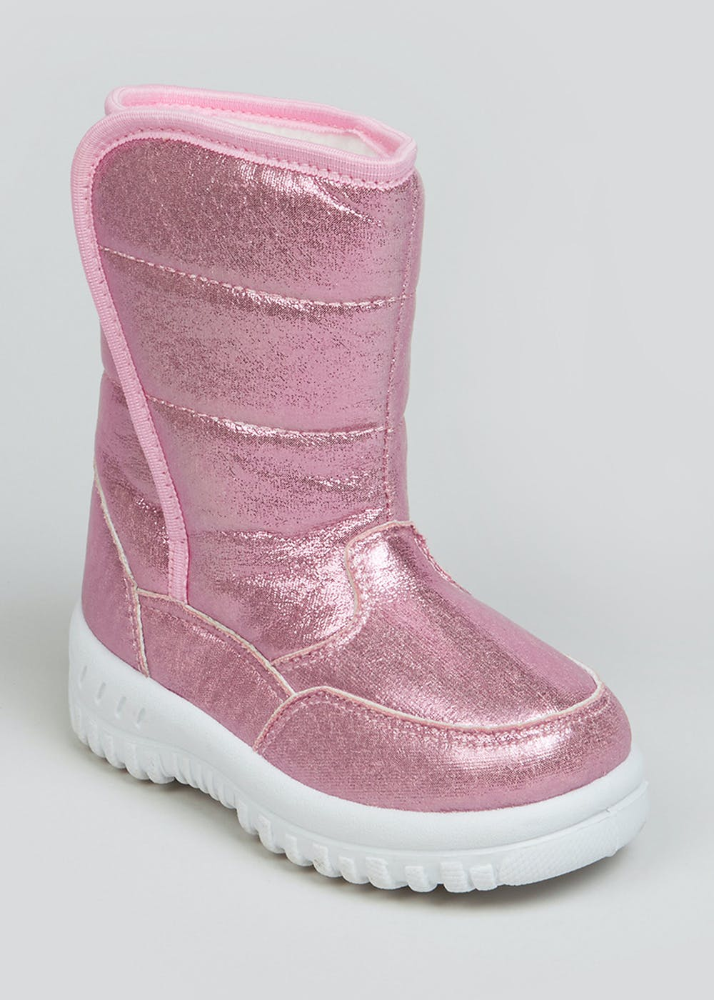 Girls Pink Snow Boots (Younger 4-12