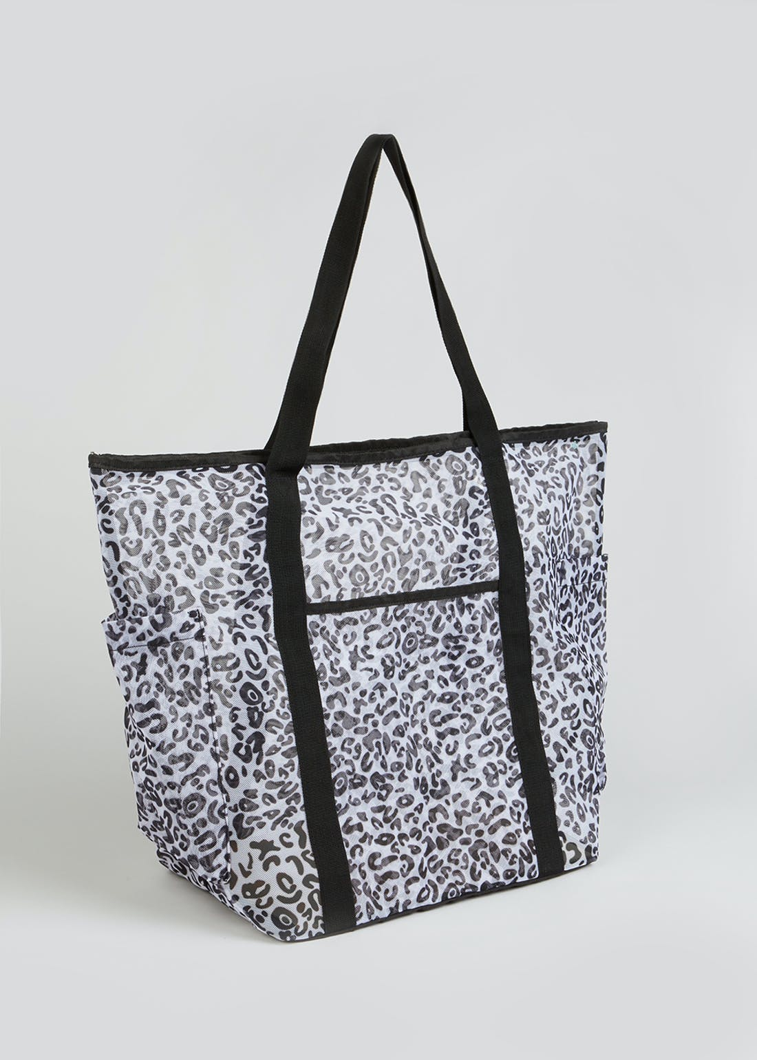 Leopard Print Beach Bag