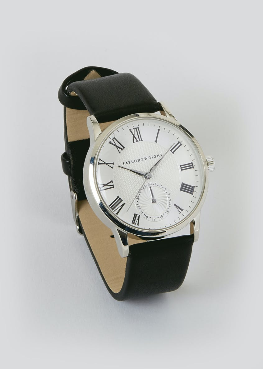 Taylor & Wright Roman Numerals Watch