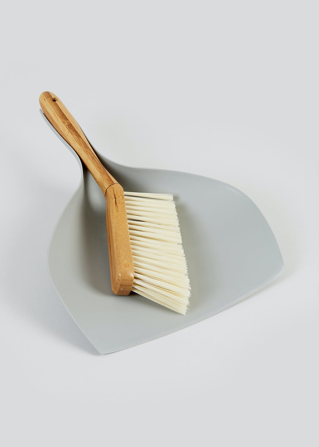Wooden Dustpan & Brush Set (35cm x 25.5cm)